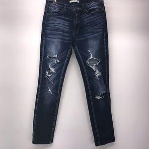 KanCan Distressed Jeans 28